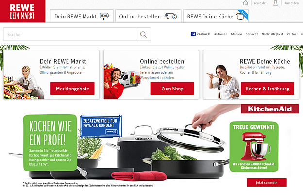 REWE Online-Shopping