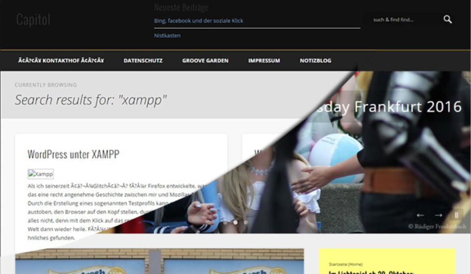 WordPress mit XAMPP